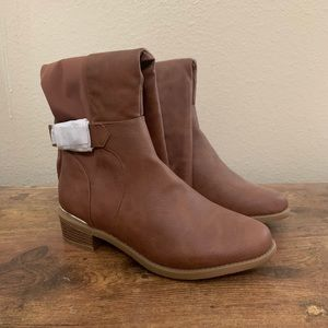 NWOB Light Brown Tall Boots